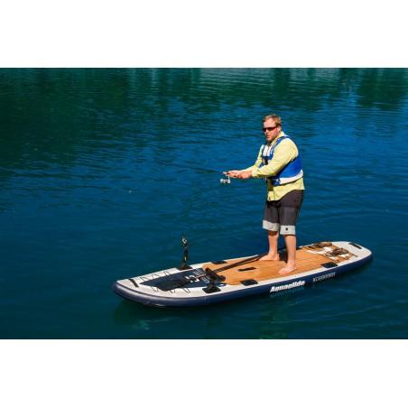 Aquaglide deska iSUP Blackfoot Angler 11' 16230 w akcji 2