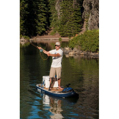 Aquaglide deska iSUP Blackfoot Angler 11' 16230 w akcji 3