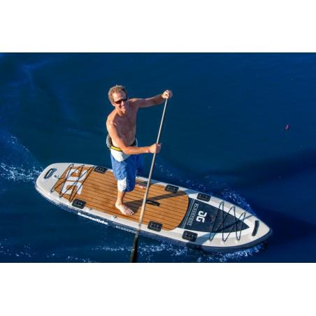 Aquaglide deska iSUP Blackfoot Angler 11' 16230 w akcji 4