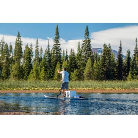 Aquaglide deska iSUP Blackfoot Angler 11' 16230 w akcji 6