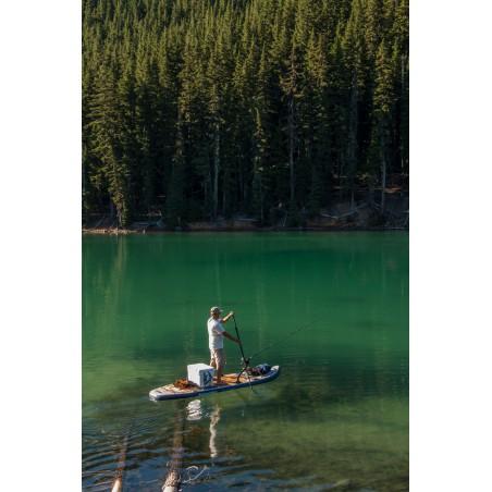Aquaglide deska iSUP Blackfoot Angler 11' 16230 w akcji 7