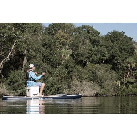 Aquaglide deska iSUP Blackfoot Angler 11' 16230 w akcji 8
