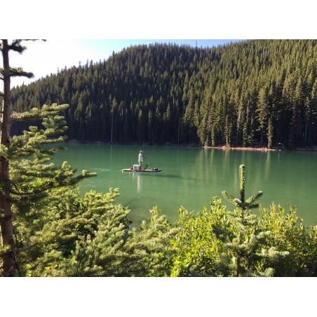 Aquaglide deska iSUP Blackfoot Angler 11' 16230 w akcji 10