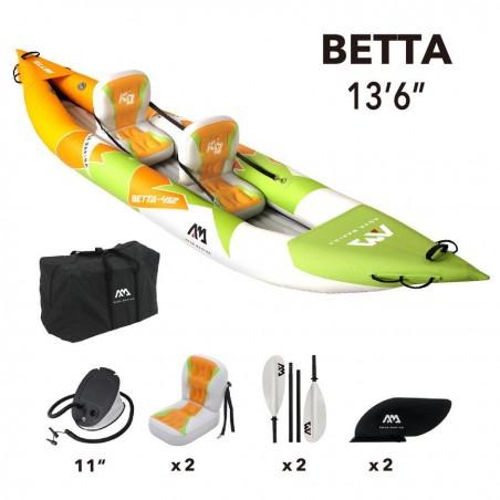 Aqua Marina kajak Betta BE412 komplet