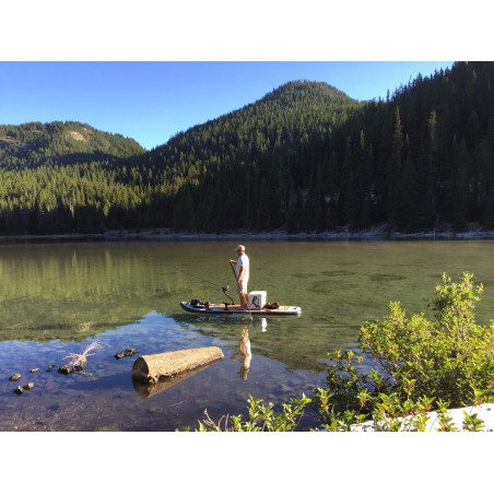 Aquaglide deska iSUP Blackfoot Angler 11' 16230 w akcji 13