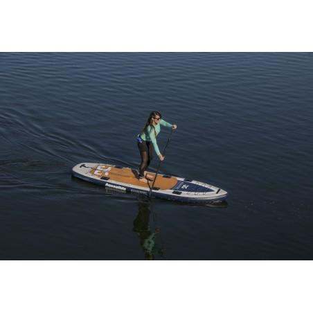 Aquaglide deska iSUP Blackfoot Angler 11' 16230 w akcji 15