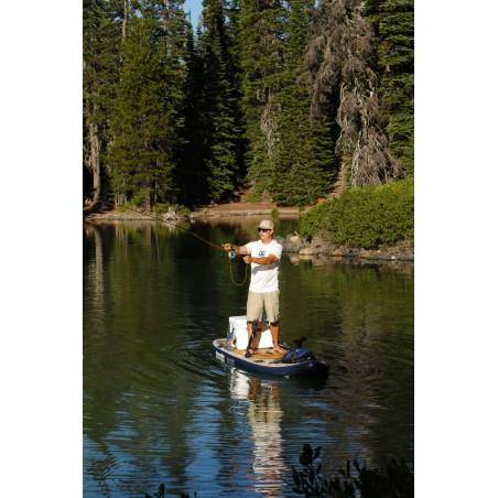 Aquaglide deska iSUP Blackfoot Angler 11' 16230 w akcji 16