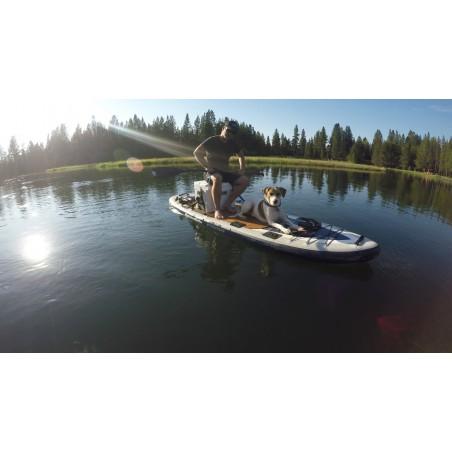 Aquaglide deska iSUP Blackfoot Angler 11' 16230 w akcji 17