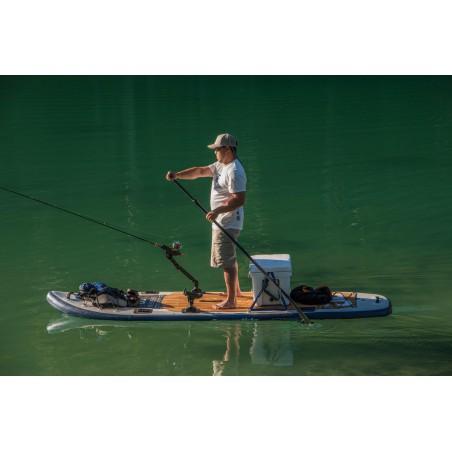 Aquaglide deska iSUP Blackfoot Angler 11' 16230 w akcji